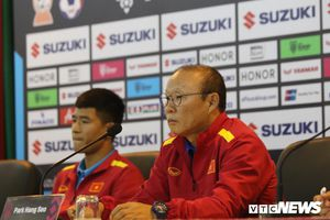 HLV Park Hang Seo: Tuyển Việt Nam phải chiến đấu, thắng thuyết phục Philippines