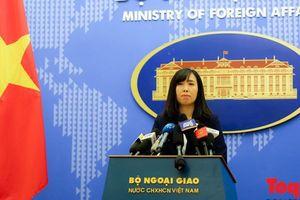 Bộ Ngoại giao thông tin về vụ bắt giữ ông Trần Bắc Hà