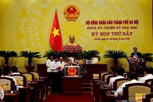 Hà Nội: Đại biểu HĐND TP đánh giá tín nhiệm với 36 chức danh