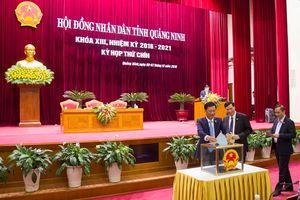 29 chức danh do HĐND tỉnh Quảng Ninh bầu đa số đạt tín nhiệm cao