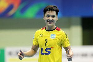 Hồ Văn Ý nhận đề cử thủ môn futsal xuất sắc thế giới