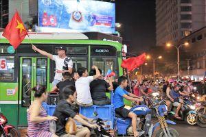 TPHCM: 3 phương án ứng phó 'bão đêm' trận Việt Nam vs Philippines