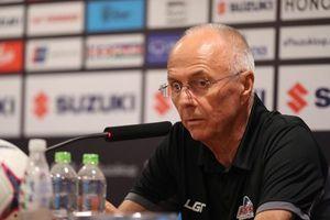 HLV Eriksson lý giải nguyên nhân thất bại trước tuyển Việt Nam
