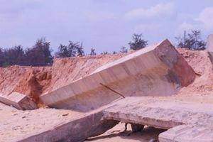 Bình Định: Sai phạm 'be bét' vụ kè 80 tỷ vừa làm xong đã tan nát