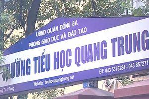 Cô giáo tường trình việc yêu cầu tát học sinh ở Hà Nội