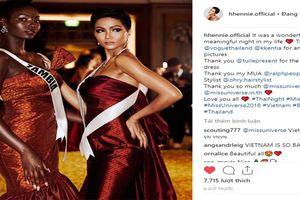 H'Hen Niê nhận 'mưa lời khen' sau màn catwalk tại Miss Universe 2018