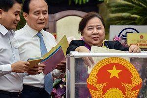 Chủ tịch Hà Nội Nguyễn Đức Chung có 84 phiếu tín nhiệm cao, 4 phiếu tín nhiệm thấp