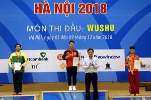 Đoàn Hà Nội tạm dẫn đầu ở môn Wushu