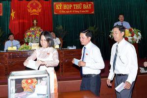 Cà Mau, Sóc Trăng: Lãnh đạo chủ chốt có phiếu tín nhiệm cao