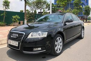 Hơn 100 xe sang Audi A6 tại Việt Nam dính lỗi túi khí