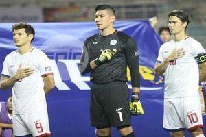 'Siêu thủ môn' của Phlippines liệu có vé tái đấu với đội tuyển Việt Nam?