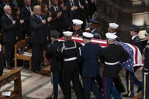 Toàn cảnh tang lễ xúc động của cựu Tổng thống Mỹ George H.W Bush