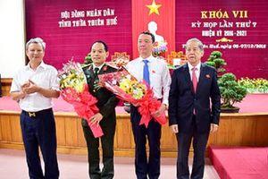 Thừa Thiên Huế: Ông Phan Thiên Định được bầu làm Phó Chủ tịch tỉnh