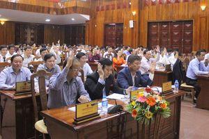 Giám đốc Sở Giáo dục - Đào tạo Quảng Bình có số phiếu tín nhiệm cao thấp nhất