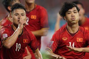 Quang Hải và Công Phượng ghi bàn, Việt Nam vào chung kết AFF Cup 2018