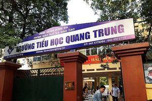 Chủ tịch Hà Nội: Vụ việc Tiểu học Quang Trung 'không chấp nhận được'