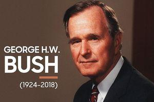 Điện chia buồn cựu Tổng thống Hoa Kỳ George H.W. Bush qua đời
