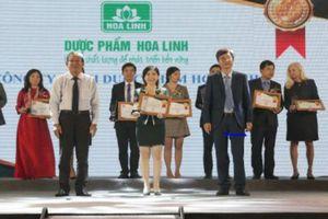 Dạ Hương, 10 năm liên tiếp đạt giải thưởng Sản phẩm được Tin & Dùng số 1 trong dòng sản phẩm vệ sinh phụ nữ (2008-2018)