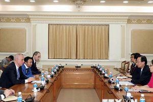 Lãnh đạo Thành phố Hồ Chí Minh tiếp Thứ trưởng Ngoại giao Belarus