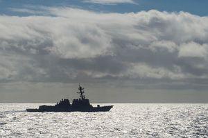 Mỹ điều tàu khu trục tới gần khu vực tranh chấp trên Biển Nhật Bản