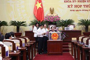 Chủ tịch Hà Nội Nguyễn Đức Chung được 84 phiếu tín nhiệm cao, 14 phiếu tín nhiệm và 4 phiếu tín nhiệm thấp