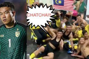 Cầu thủ Malaysia giả vờ gặp ác mộng, chế nhạo thủ môn Thái Lan