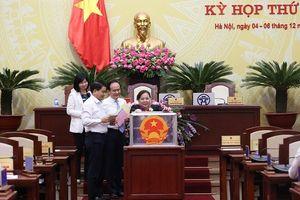 Kết quả lấy phiếu tín nhiệm của HĐND TP Hà Nội