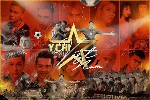 Hoàng Tôn cùng dàn sao trẻ ủng hộ tinh thần đội tuyển Việt Nam với ca khúc sôi động
