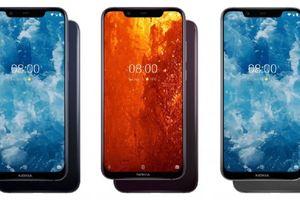 Nokia 8.1 ra mắt với màn hình tai thỏ, camera kép