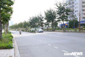 Cận cảnh phố 8 làn xe ở Hà Nội mang tên nhà tư sản Trịnh Văn Bô