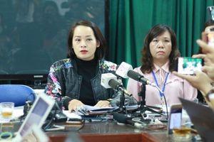 Họp báo vụ cô giáo Hà Nội bị tố bắt học sinh tát bạn 50 cái