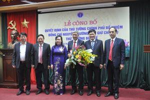Tân Thứ trưởng Nguyễn Trường Sơn chính thức nhận nhiệm vụ tại Bộ Y tế