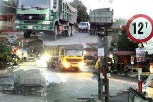 Bắc Ninh: CSGT Yên Phong có 'bất lực' với xe quá khổ, quá tải?