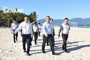 Đà Nẵng: Xúc tiến mở tuyến đường ven biển phía Đông các khu du lịch ở Ngũ Hành Sơn