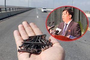 'Đinh tặc' hoành hành trên cầu vượt biển dài nhất Việt Nam: Giám đốc Sở GTVT Hải Phòng nói gì?