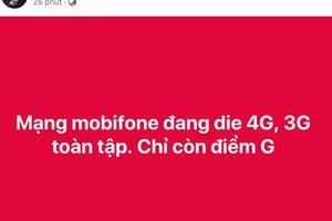 Mạng 3G/4G Mobifone bị 'sập' trên diện rộng