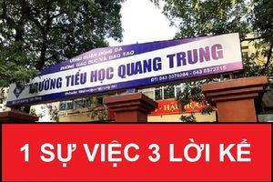Mâu thuẫn trong lời kể sự việc giáo viên phạt tát học sinh 50 cái ở Hà Nội