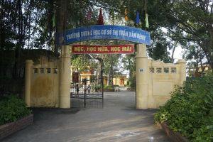 UBND huyện yêu cầu kỷ luật cô giáo tát, xúc phạm học sinh ở Hà Nội