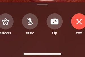 iOS 12.1.1 giúp việc chuyển máy ảnh khi gọi FaceTime dễ dàng hơn