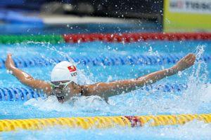 Ánh Viên giành 12 HCV, giúp Đoàn Quân đội dẫn đầu môn bơi tại Đại hội