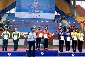 Môn vovinam Đại hội Thể thao toàn quốc lần VIII: Đua tranh vị trí cao toàn đoàn