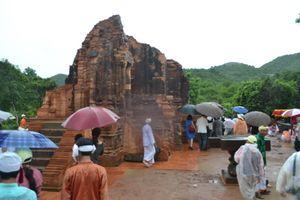 Giới thiệu quy trình trùng tu đền tháp Chăm tại Mỹ Sơn