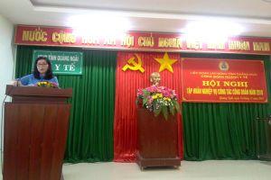 Công đoàn Y tế Quảng Ngãi tập huấn nghiệp vụ công tác công đoàn