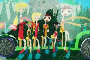 Trao giải Cuộc thi vẽ tranh 'Đan Mạch trong mắt em 2018 - Giấc mơ xanh'