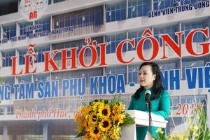 Bệnh viện Trung ương Huế khánh thành Khoa Ung thư nhi và Đơn vị ghép tủy