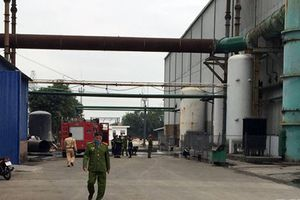 Nổ lò luyện thép công ty Dragon Hải Phòng, 4 người trọng thương