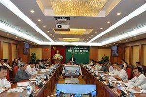 Ủy ban Kiểm tra Trung ương quyết định thi hành kỷ luật một số tướng lĩnh