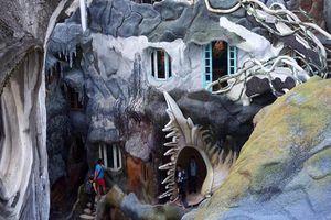 Ngôi nhà 'kỳ dị' ở Đà Lạt, xây 28 năm vẫn chưa xong