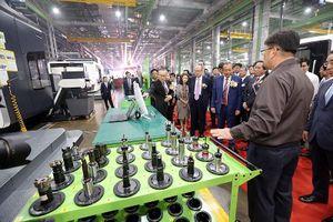 Bên trong nhà máy sản xuất động cơ máy bay ở Hòa Lạc