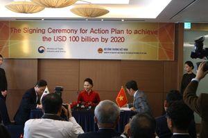 Thương mại Việt Nam - Hàn Quốc hướng tới 100 tỷ USD